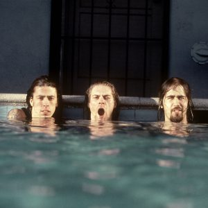Nirvana promo photo shoot by Kirk Weddle for the album