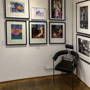 Jimi Hendrix Exhibition at L'Unique Rock Gallery Basel